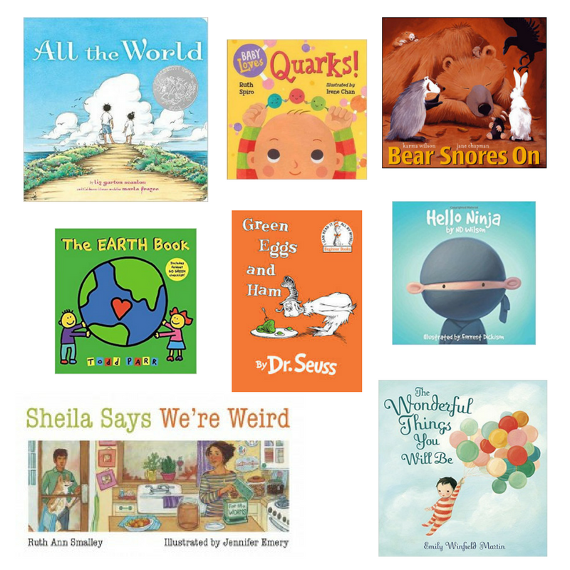 Our favorite kids books for an 8 month old